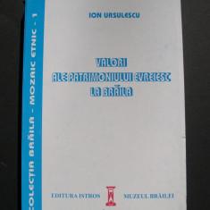 Valori  ale  patrimoniului  evreiesc  la  Braila  -  Ion  Ursulescu