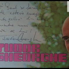Tudor Gheorghe, disc vinil vinyl Electrecord, EDE 02646; disc cu autograf! - Muzica Folk