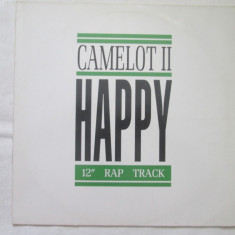Camelot II ‎– Happy _ vinyl, 12