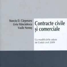 Stanciu D. Carpenaru - Contracte civile si comerciale - 36404 - Carte Legislatie