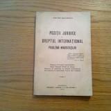 POZITII JURIDICE IN DREPTUL INTERNATIONAL * Minoritatile - Vintila I. Gaftoescu