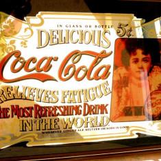 Reclama    COCA  COLA   ( 50/60  cm)