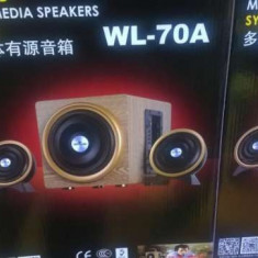 Sistem boxe multimedia WL-70A