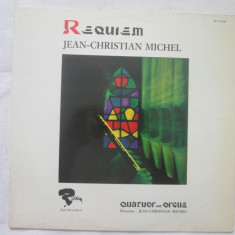 Jean-Christian Michel, Quatuor Avec Orgue – Requiem _ vinyl, LP, Germania - Muzica Clasica Altele, VINIL