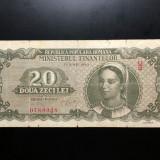 20 Lei 15 Iunie 1950 Romania, F - Bancnota romaneasca