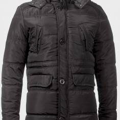 Geaca Collins-produs original 100%-Super model-S-M-L-XL - Geaca barbati, Culoare: Negru