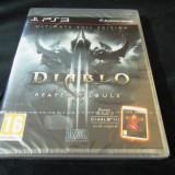 Joc Diablo III reaper of Souls, PS3, original si sigilat, alte sute de jocuri!