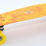 Penny Board - Skateboard - Pennyboard - Axe Aluminiu - Rulmenti ABEC 7 - NOU, 23