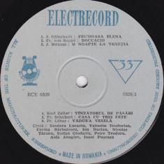 I.Dacian_V. Teodorian_Cl. Melidoneanu_C.Campeanu - Arii Din Operete (Vinyl) - Muzica Opera electrecord, VINIL