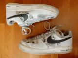 Adidasi camuflaj Nike Air-Force AF 1 '82; marime 45 (29 cm talpic); impecabili