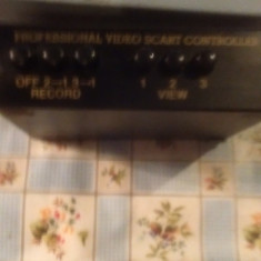 Profesional Video Scart Controler