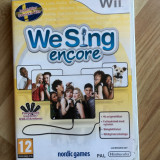 We Sing Encore-joc karaoke Nintendo Wii - Jocuri WII, Simulatoare, 12+