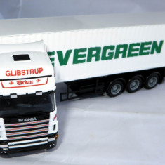 Herpa Scania Topline 144L 460 container 40