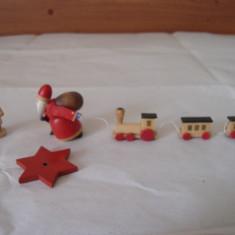 Figurine-miniaturi lemn vintage made in GDR - Miniatura Figurina