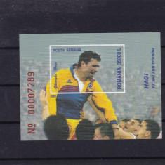 ROMANIA 2001, LP 1549, HAGI - 17 ANI SUB TRICOLOR COLITA MNH - Timbre Romania, Nestampilat