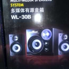 Sistem boxe multimedia welllon wl-30b