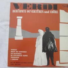 Verdi - Ouvertüre Et Chœrs _ vinyl, LP, Elvetia - Muzica Opera Altele, VINIL