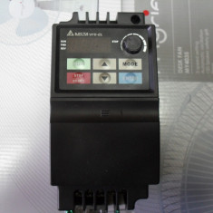 Inverter-convertizor de frecventa DELTA VFD 0, 4 KW -alimentare 220vca - Invertor curent