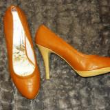 Pantofi maro marimea 41 Jumelles - noi - Pantof dama
