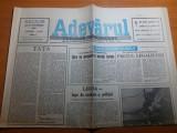 Ziarul adevarul 27 septembrie 1990