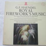 Haendel - Royal Fire Work's Music _ vinyl,Lp,Franta