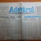 Ziarul adevarul 20 septembrie 1990
