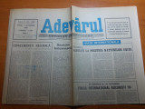 Ziarul adevarul 5 octombrie 1990