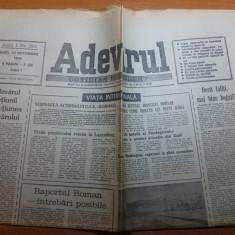 ziarul adevarul 23 octombrie 1990