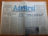 ziarul adevarul 30 septembrie 1990