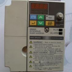 Inverter-convertizor de frecventa OMRON 2, 2KW - Invertor curent