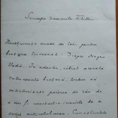 Scrisoare a Gen.Constandachi catre I. C. Filitti si viceversa, 1935 - Autograf