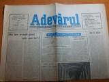 ziarul adevarul 21 septembrie 1990
