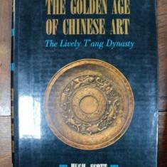 The Golden Age of Chinese Art, Hug Scott, Tokyo 1966 cu dedicatia autorului catre Corneliu Baba