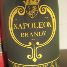 Brandy napoleon, teichenne, -cl 75 gr 40 sticla ani 70 - Cognac