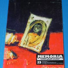 MEMORIA revista gandirii arestate nr 23 articol aromani de C-tin Hagi (02754 - Biografie