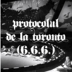 Serge Monaste - Protocolul de la Toronto (6.6.6.) - Carte masonerie