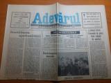 Ziarul adevarul 25 septembrie 1990