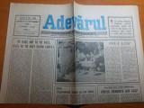 Ziarul adevarul 22 septembrie 1990  -  9 luni de la revolutie