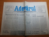 Ziarul adevarul 15 septembrie 1990-art. criza cartii romanesti