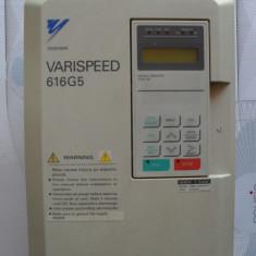 Inverter-convertizor de frecventa YASKAWA VARISPEED 616G5 7, 5kw