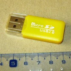 Card reader MICRO SD - port USB - NOU - 2+1 gratis - RBK18092
