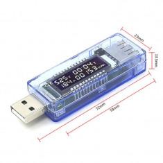 Tester incarcare USB - Charger doctor - Voltmetru Ampermetru Capacitate baterie - USB gadgets