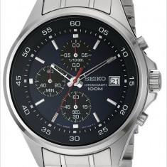 Seiko SKS475 ceas barbati nou 100% original. Garantie.In stoc - Livrare rapida. - Ceas barbatesc Seiko, Casual, Quartz, Inox, Cronograf