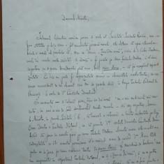 Scrisoare a scriitorului Mihail Dragomirescu, Presedintele Societ. Scriitorilor - Autograf