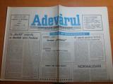 Ziarul adevarul 19 septembrie 1990