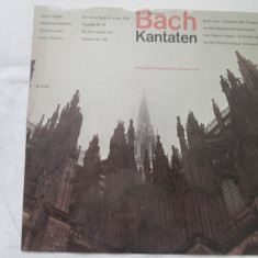 Bach - Kantaten _ vinyl,LP,Elvetia, VINIL