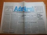 ziarul adevarul 29 septembrie 1990