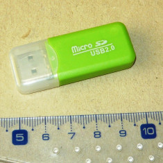 Card reader MICRO SD - port USB - NOU - 2+1 gratis - RBK18091