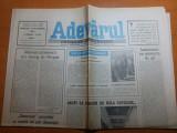 Ziarul adevarul 17 octombrie 1990