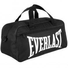 Geanta pt sala Everlast Originala dimensiune medie - Geanta Barbati, Culoare: Negru, Geanta tip postas